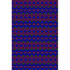 Split Diamond Blue Purple Woven Fabric 5 5  X 8 5  Notebooks by Mariart