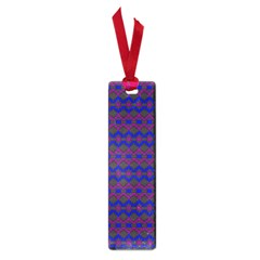 Split Diamond Blue Purple Woven Fabric Small Book Marks by Mariart