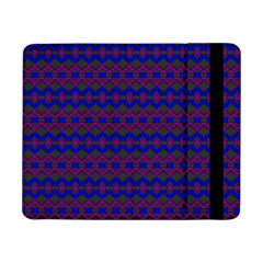Split Diamond Blue Purple Woven Fabric Samsung Galaxy Tab Pro 8 4  Flip Case by Mariart
