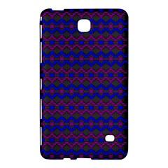 Split Diamond Blue Purple Woven Fabric Samsung Galaxy Tab 4 (7 ) Hardshell Case  by Mariart