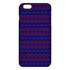 Split Diamond Blue Purple Woven Fabric Iphone 6 Plus/6s Plus Tpu Case by Mariart