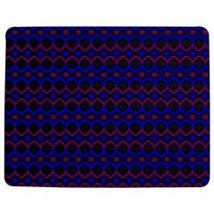 Split Diamond Blue Purple Woven Fabric Jigsaw Puzzle Photo Stand (rectangular) by Mariart