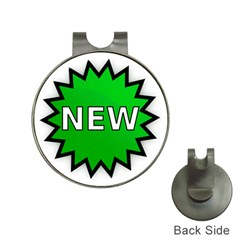 New Icon Sign Hat Clips With Golf Markers by Mariart