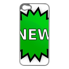 New Icon Sign Apple Iphone 5 Case (silver) by Mariart