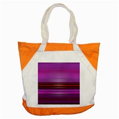 Stripes Line Red Purple Accent Tote Bag by Mariart
