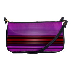 Stripes Line Red Purple Shoulder Clutch Bags by Mariart