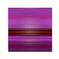 Stripes Line Red Purple Small Satin Scarf (square) by Mariart