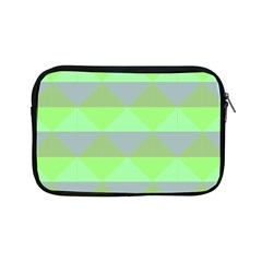 Squares Triangel Green Yellow Blue Apple Ipad Mini Zipper Cases by Mariart