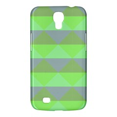 Squares Triangel Green Yellow Blue Samsung Galaxy Mega 6 3  I9200 Hardshell Case by Mariart