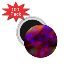 Vaccine Blur Red 1 75  Magnets (100 Pack)  by Mariart