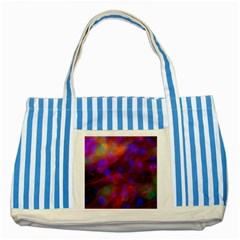 Vaccine Blur Red Striped Blue Tote Bag by Mariart