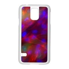 Vaccine Blur Red Samsung Galaxy S5 Case (white) by Mariart