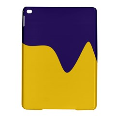 Purple Yellow Wave Ipad Air 2 Hardshell Cases by Mariart