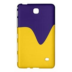 Purple Yellow Wave Samsung Galaxy Tab 4 (8 ) Hardshell Case  by Mariart