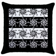 Three Wise Men Gotham Strong Hand Throw Pillow Case (black) by Mariart
