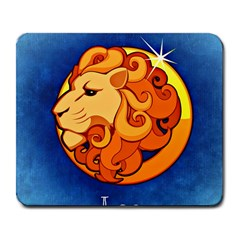 Zodiac Leo Large Mousepads by Mariart
