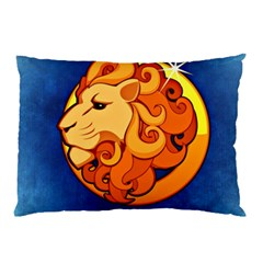 Zodiac Leo Pillow Case (two Sides) by Mariart