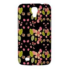 Floral Pattern Samsung Galaxy Mega 6 3  I9200 Hardshell Case by Valentinaart