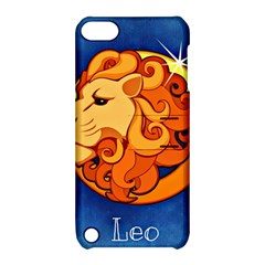 Zodiac Leo Apple Ipod Touch 5 Hardshell Case With Stand by Mariart
