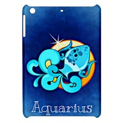 Zodiac Aquarius Apple Ipad Mini Hardshell Case by Mariart