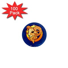 Zodiac Aries 1  Mini Magnets (100 Pack)  by Mariart