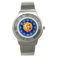 Zodiac Aries Stainless Steel Watch by Mariart