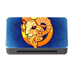 Zodiac Aries Memory Card Reader With Cf by Mariart