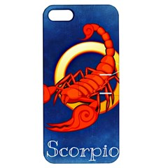 Zodiac Scorpio Apple Iphone 5 Hardshell Case With Stand by Mariart