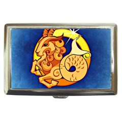 Zodiac Capricorn Cigarette Money Cases by Mariart