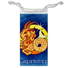 Zodiac Capricorn Jewelry Bag by Mariart