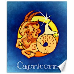 Zodiac Capricorn Canvas 8  X 10  by Mariart