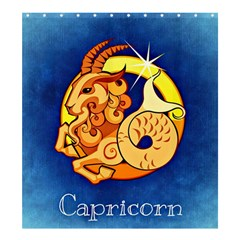 Zodiac Capricorn Shower Curtain 66  X 72  (large)  by Mariart