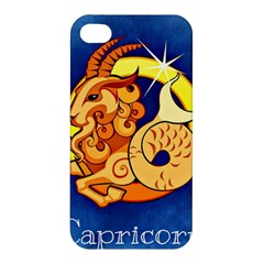 Zodiac Capricorn Apple Iphone 4/4s Hardshell Case by Mariart