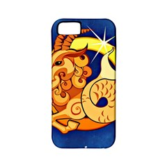 Zodiac Capricorn Apple Iphone 5 Classic Hardshell Case (pc+silicone) by Mariart