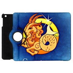 Zodiac Capricorn Apple Ipad Mini Flip 360 Case by Mariart