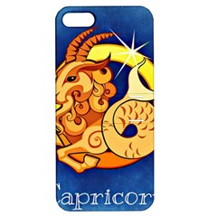 Zodiac Capricorn Apple Iphone 5 Hardshell Case With Stand by Mariart