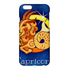 Zodiac Capricorn Apple Iphone 6 Plus/6s Plus Hardshell Case by Mariart