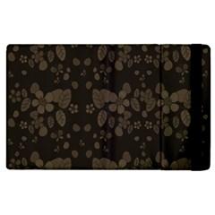 Floral Pattern Apple Ipad 2 Flip Case by Valentinaart