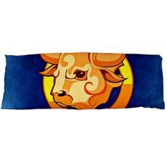 Zodiac Taurus Body Pillow Case Dakimakura (two Sides) by Mariart