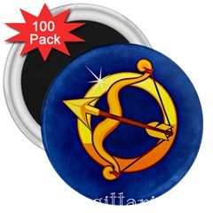 Zodiac Sagittarius 3  Magnets (100 Pack) by Mariart
