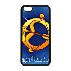 Zodiac Sagittarius Apple Iphone 5c Seamless Case (black) by Mariart