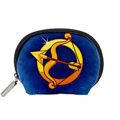 Zodiac Sagittarius Accessory Pouches (small)  by Mariart