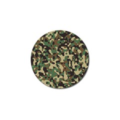 Army Camouflage Golf Ball Marker (4 Pack) by Mariart