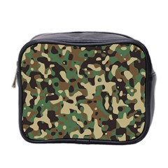 Army Camouflage Mini Toiletries Bag 2 Side by Mariart