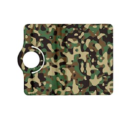 Army Camouflage Kindle Fire Hd (2013) Flip 360 Case by Mariart