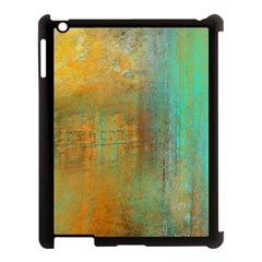 The Waterfall Apple Ipad 3/4 Case (black) by theunrulyartist