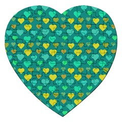 Hearts Seamless Pattern Background Jigsaw Puzzle (heart)