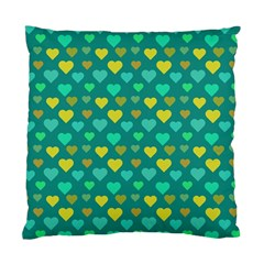 Hearts Seamless Pattern Background Standard Cushion Case (Two Sides)