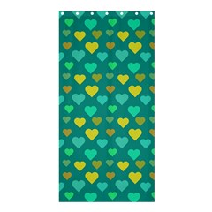 Hearts Seamless Pattern Background Shower Curtain 36  X 72  (stall)  by Nexatart