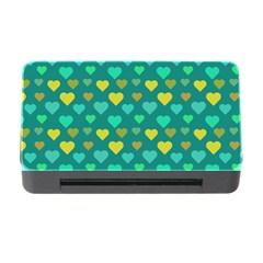 Hearts Seamless Pattern Background Memory Card Reader With Cf by Nexatart